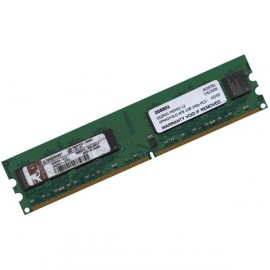 1Go Ram Barrette Mémoire KINGSTON KPN424-ELG DDR2 PC2-5300U 667Mhz 2Rx8 CL5