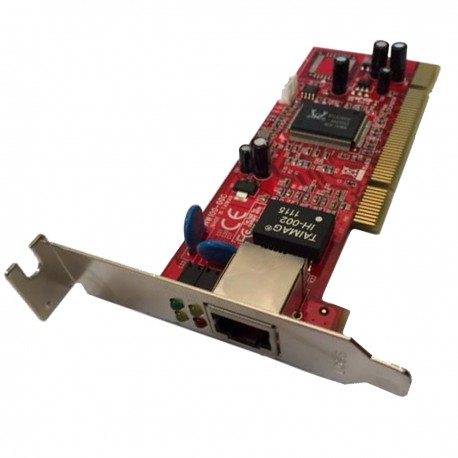 Carte Réseau Lycom NW100-00B PCI Gigabit RJ-45 10/100/1000 Low Profile
