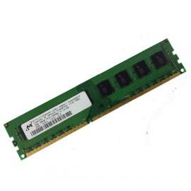 Ram Barrette Mémoire MICRON 2Go DDR3 PC3-10600U 1333Mhz MT8JTF25664AZ-1G4M1 CL9