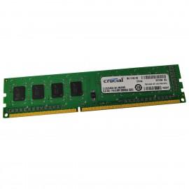 2Go RAM Crucial C125664BA1067.M8FMR BL111K2.N6 DDR3 PC3-8500U 240-Pin 1066Mhz