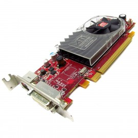 Carte ATI Radeon HD3450 ATI-102-B62902 0Y103D PCI-e DMS-59 S-Video Low Profile