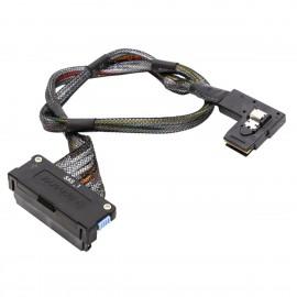 Câble SAS SATA Dell 0RN695 RN695 SFF-8484 SFF-8087 60cm Serveur