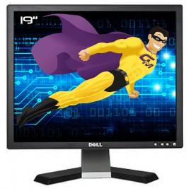 "Ecran Plat PC 19"" Dell E196FPb 0HC760 HC760 LCD TFT VGA 1280x1024 5:4"