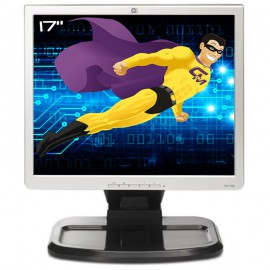 """Ecran PC 17"""" HP L1740 HSTND-2121-F 374166-201 396638-001 LCD TFT VGA DVI USB 5:4"""