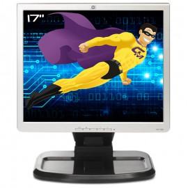 """Ecran PC 17"""" HP L1740 HSTND-2121-F 374166-201 396638-001 LCD VGA DVI USB 5:4"""