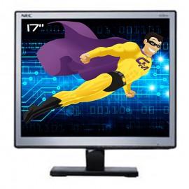 """Ecran Plat PC 17"""" NEC LCD1701 L172EN LCD TFT VGA 1280x1024 5:4 VESA"""