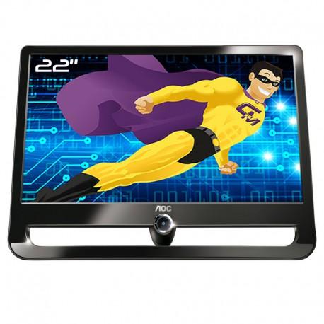 """Ecran PC 21.5"""" AOC F22S+ TFT22W90PS LCD TFT TN VGA 16:9 1920x1080 Wide VESA"""