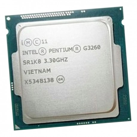Processeur CPU Intel Pentium G3260 SR1K8 FCLGA1150 Dual Core 3.3Ghz 3Mo