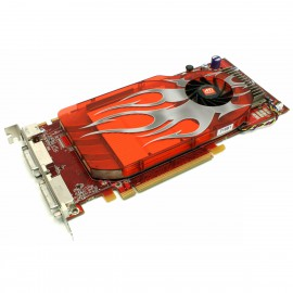 Carte ATI Radeon HD 2600 XT ATI-102-B10201 0WX092 2x DVI S-Video PCIe x16 256Mo
