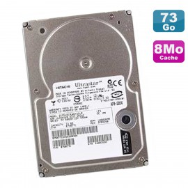 """Disque Dur 73Go SCSI 3.5"""" IBM IC35L073UWDY10-0 08K0332 DY0S23C UltraStar"""