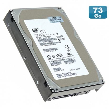 "Disque Dur 72Go SAS 15K 3.5"" HP DF072BABUD 462587-001 375874-011 0B22207"