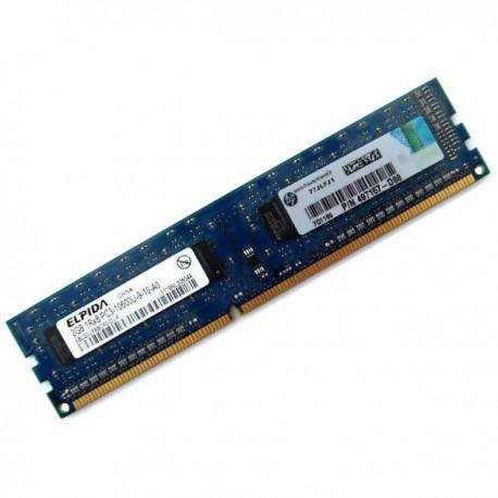 2Go RAM Mémoire PC Bureau ELPIDA EBJ20UF8BCF0-DJ-F DDR3 PC3-10600U 1333MHz CL9