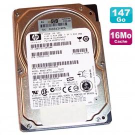 """Disque Dur 146Go SAS 10K 2.5"""" HP DG146BABCF MBB2147RC 460850-002 375863-009"""