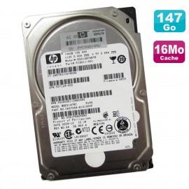 "Disque Dur 146Go SAS 10K 2.5"" HP EG0146FARTR MBD214TRC 518011-001 375863-001"
