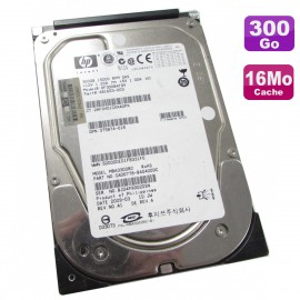 "Disque Dur 300Go SAS 15K 3.5"" HP DF300BAFDV MBA3300RC 481653-003 375874-016"
