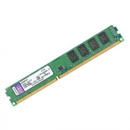Ram Barrette Mémoire KINGSTON 2Go DDR3 PC3-10600U KVR1333D3N9/2G Low Profile