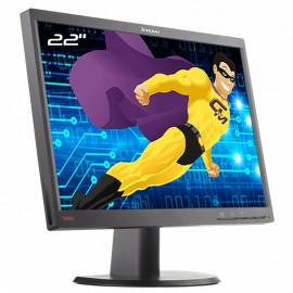 """Ecran PC 22"""" Lenovo ThinkVision L2240pwD 4422-HB6 45J7651 VGA DVI-D WideScreen"""