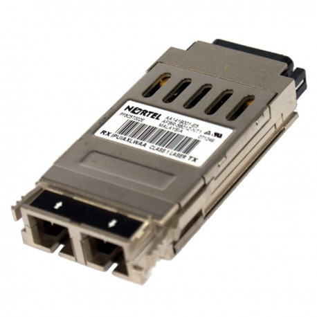 Transceiver NORTEL AA1419001-E5 AFBR-5601Z-NT1 IPUIAXLWAA 1000Base-SX 850nm GBIC