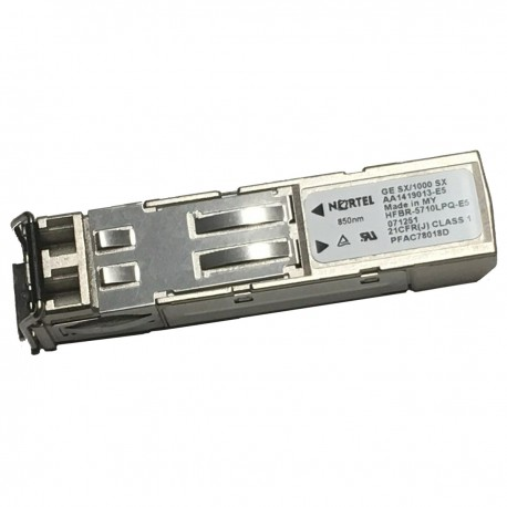 Transceiver NORTEL AA1419013-E5 HFBR-5710LPQ-E5 CNUIAT2HAA 1000Base-SX 850nm GE