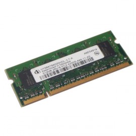 RAM PC Portable SODIMM Infineon HYS64T64020HDL-3.7-A DDR2 533Mhz 512Mo PC2-4200S