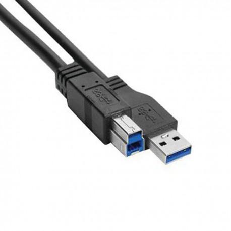 Rallonge USB 3.0 Am Bm 149795 100cm Noir NEUF