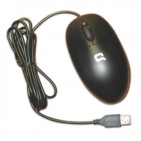 Souris Optique USB COMPAQ M-UAE96 505131-001 537750-001 Noir 400-DPI 3 Boutons