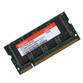 512Mo RAM PC Portable SODIMM Hynix HYMD564M646A6-J AA DDR 333Mhz PC-2700S CL2.5