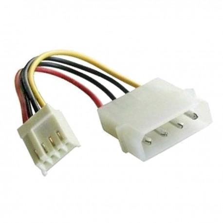 Câble Adaptateur Molex IDE Mâle Floppy 4-Pin Femelle 6cm