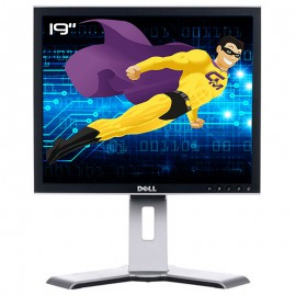 "Ecran PC 19"" Dell 1907FPf 0TX071 TX071 LCD TFT VGA DVI USB 5:4 1280x1024"