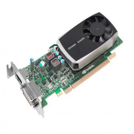 Carte Graphique NVIDIA QUADRO 600 1GB DDR3 128-Bit OEM Display Port DVI-I PCI-E
