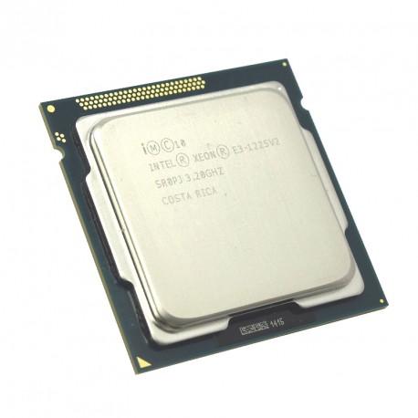 Processeur CPU Intel Xeon E3-1225v2 3.2Ghz 8Mo 5GT/s FCLGA1155 Quad Core SR0PJ