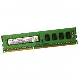 4Go RAM ECC Serveur Samsung M391B5273DH0-CK0 DDR3 PC3-12800E 1600MHz 2Rx8 CL11