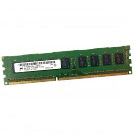 4Go RAM Serveur Micron MT18JSF51272AZ-1G6M1ZE DDR3 PC3-12800E 1600MHz 2Rx8 1.5v