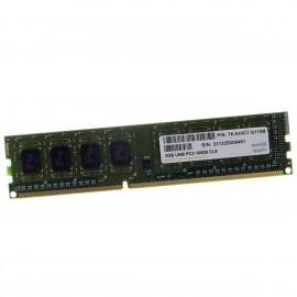 2Go RAM Apacer 75.A83C1.G110B DDR3 PC3-10600U 1333Mhz 1.5v CL9