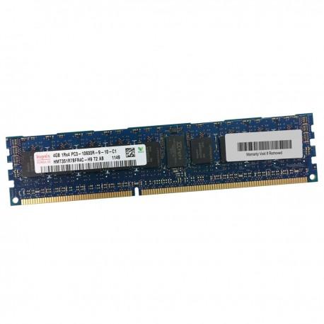 4Go RAM Serveur Hynix HMT351R7BFR4C-H9 DDR3 PC3-10600R Registered ECC 1333Mhz
