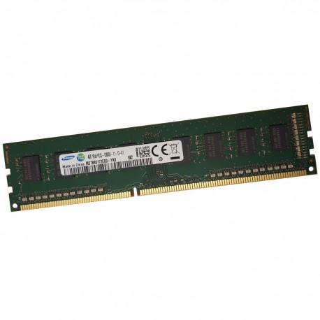 4Go RAM Samsung M378B5173EB0-YK0 DDR3 PC3L-12800U 240Pin 1600Mhz 1.35v 1Rx8 CL11