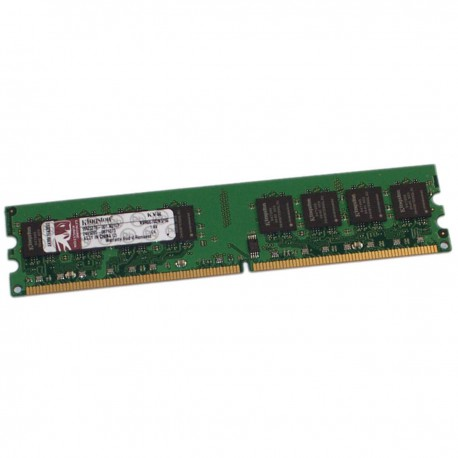 1Go RAM Kingston KVR667D2N5/1G DDR2 PC2-5300U 240-Pin 667Mhz 1.8v CL5