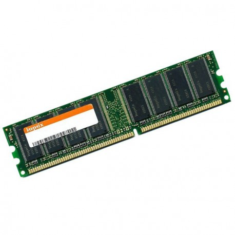 Ram Barrette Memoire HYNIX HYMD232646D8J-D43 AA-A 256Mo DDR1 PC-3200U 400Mhz CL3