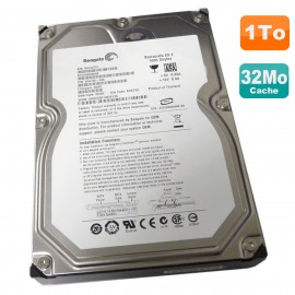 "Disque Dur 1To 3.5"" SATA Seagate Barracuda ES.2 ST31000340NS 9CA158-304 7200RPM"