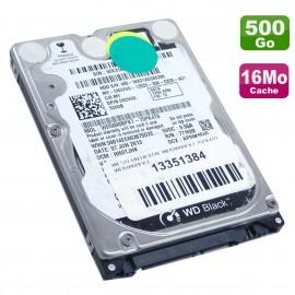 """Disque Dur 500Go SATA 2.5"""" WD Dell Black WD5000BPKT-75PK4T0 0N3VVG 7200RPM 16Mo"""