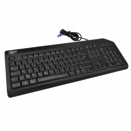 Clavier PS/2 PC AZERTY Acer KB-0759 DGT-KB-0759 Noir