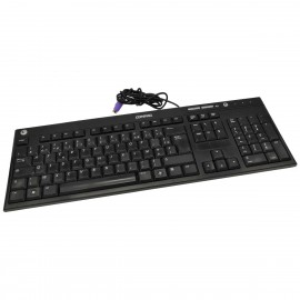Clavier PS/2 PC AZERTY COMPAQ 5137 5188-7639 E5XKB5137 Noir