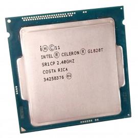 Processeur CPU Intel Celeron Dual-Core G1820T SR1CP 2.4Ghz 2Mo 5GT/s LGA1150