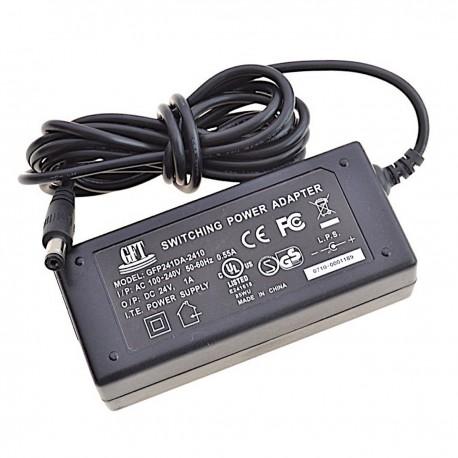 Chargeur GME GFP241DA-2410 24V 1A Adaptateur Secteur