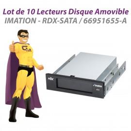Lot x10 Lecteurs Disque Amovible IMATION RDX-SATA 66951655-A Docking Stations