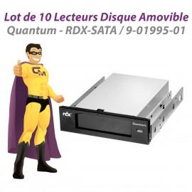 Lot x10 Quantum RDX SATA Lecteurs Disque Amovible 9-01995-01 Docking Stations