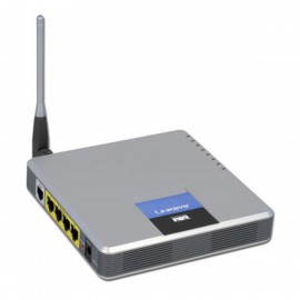Modem ADSL LINKSYS WAG200G Wireless-G 4x RJ-45 RJ-11 10/100Mbps