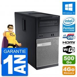 PC Dell 3010 MT G2020 RAM 4Go Disque Dur 500Go HDMI Windows 10 Wifi