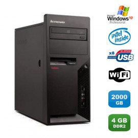 PC IBM Lenovo Thinkcentre M57 6075-CTO Pentium D 1.80Ghz 4Go 2000Go WIFI XP Pro