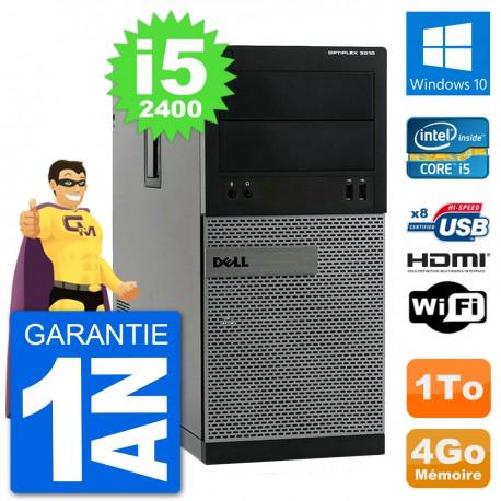 PC Dell 3010 MT i5-2400 RAM 4Go Disque Dur 1To HDMI Windows 10 Wifi